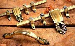 Designer Brass Door Kit, 10 Inch, Rod Thickness: 10 Mm