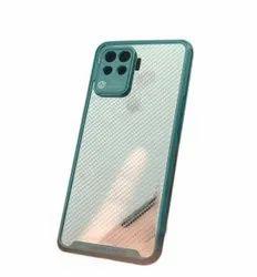 Silicon Transparent Oppo F19 Pro Mobile Phone Cover