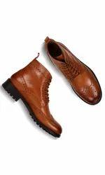 Heels Casual Wear Mid-top Flat Boots