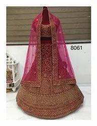 Balaji Emporium Indian Women Bridal Wear Heavy Embroidery Lehenga Choli At Wholesale Price