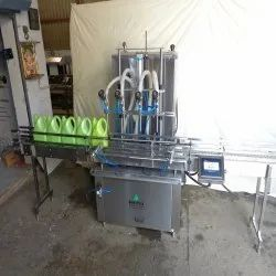 Automatic Servo Base Edible Oil Filling Machine 200 Ml To 5 Litres