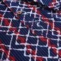 Janasya Men's Blue Cotton Kurta(MEN5018)