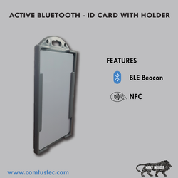 ID Card Holder Integrated With Bluetooth (BLE)
