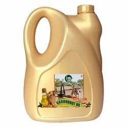 5 Liter Bull Driven Cold Pressed Groundnut Oil