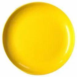 Deep Big Yellow Plate