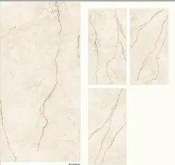 White Italian Marble Finish Floor Tiles, For Flooring