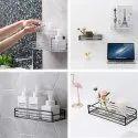 Metal Multipurpose Kitchen Bathroom Shelf