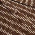 Janasya Men's Brown Cotton Kurta( Men5020)
