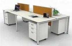 Workstation with Pedestal