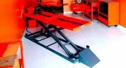 ANAND TWO WHEELER  HYDRAULIC SERVICE RAMP