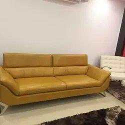 Om Enterprise Wooden (Frame) 2 Seater Sofa Set, For Home