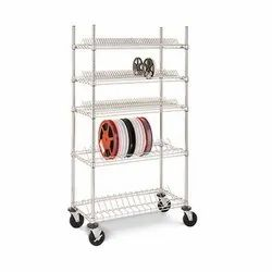 Stainless Steel SMT Component Real Trolley