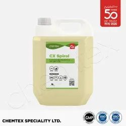 CHEMTEX CX Spiral Disinfectant Surface & Floor Cleaner Liquid Concentrate, Packaging Size: 5L