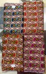 Rayon Printed Fabric, Geometric, Multicolour