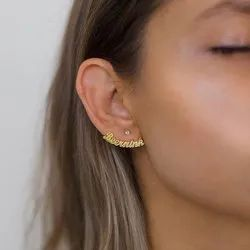 Name Earring - Gold Name Earring