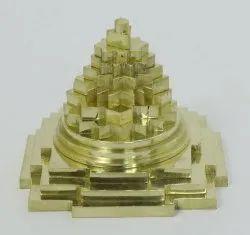 Golden Brass Meru Shree Yantra