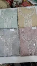 Cotton Suit With Work Price Singles 1495