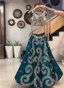 Present Taffeta Silk With Embroidery Work Lehenga Choli