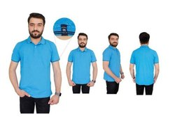 Standard Male Corporate T-Shirts, Polo Neck T-Shirt, Size: Medium