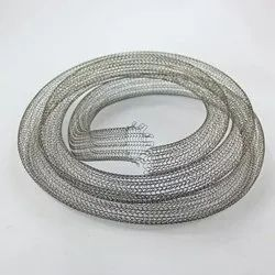 Knitted Brass Mesh Tube, For Industrial, Thickness: 3 Mm - 20 Mm