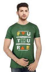 Green Round Neck T Shirt
