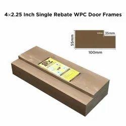 4x2.25 Inch Single Rebated WPC Door Frame