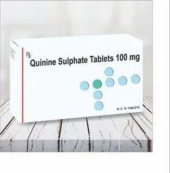 Quinine Sulphate Tablet, 10x10 Tablets, Prescription