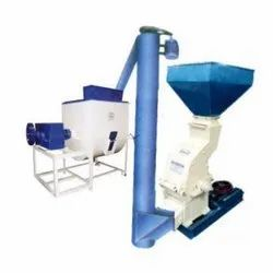 Composite Feed Mill, 500-750 kg per hr