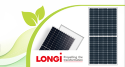 Longi 455 W 24V Mono PERC Solar Panel