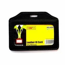Id Holder Leather
