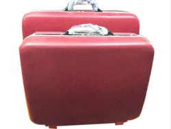 Red Plastic Royal Luggage Suitcase, Size: 21 Inch,24 Inch