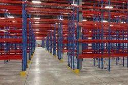 20-30 Feet Paint Coated Warehouse Rack