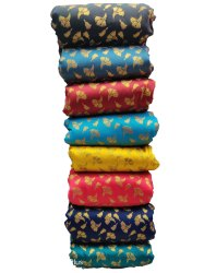 48-50 Inch Polyester Fancy Brocade Fabric