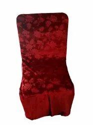Plain Maroon Shaneel Chair Sashes, For Wedding