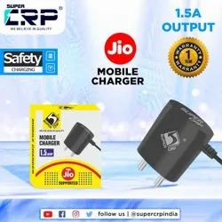 1.5 Amp Jio Mobile Charger, Super CRP