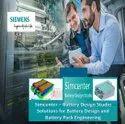 Siemens EV -  Battery Design Studio Software - Integrated Design & Simulation Of Battery Cell Pack