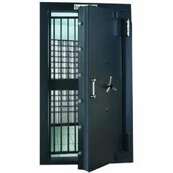Mild Steel Auro Strong Room Door, For Used For Security