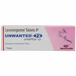Unwanted 72 Levonorgestrel Tablets