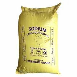 Sodium Lignosulfonate Yellow Powder