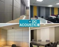 Plain Acoustic Room Fiber Wall Panel
