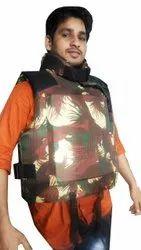 Prathna Without Sleeves Flotation Bulletproof Jacket, For Defense Sector, Size: Standard