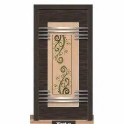 Rectangular Solid Wood Laminated Door