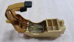 Brass Carbon Brush Holder, For Electric Motor, Holder Size: 12.5x32
