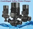 CENTRIFUGAL INLINE WATER PUMPS