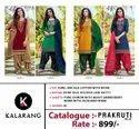 Kalarang Fashion Prakruti Vol 2 Jam Silk Cotton With Work Dress Material Catalog