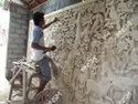 Smooth Stone Wall Mural, For Home Decor