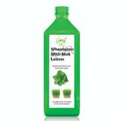 Wheat Grass Juice with Mint & Tulsi
