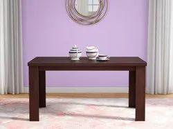Brownish Black Color Godrej Jack 6 Seater Dining Table