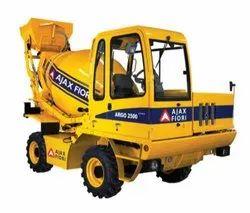 Ajax Flori Argo 2500 Self Loading Concrete Mixer Rental Service