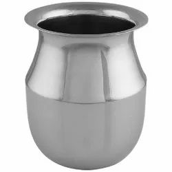 Steel SS Plain Parsi Lota, For Hotel,Home